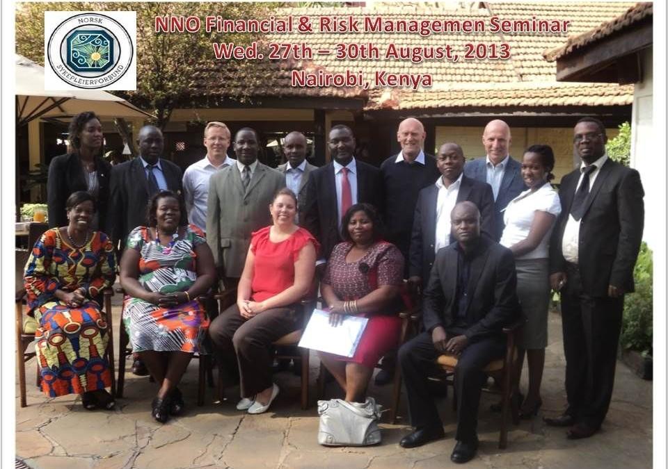 Vellykket finans- og riskhåndteringsseminar i Nairobi