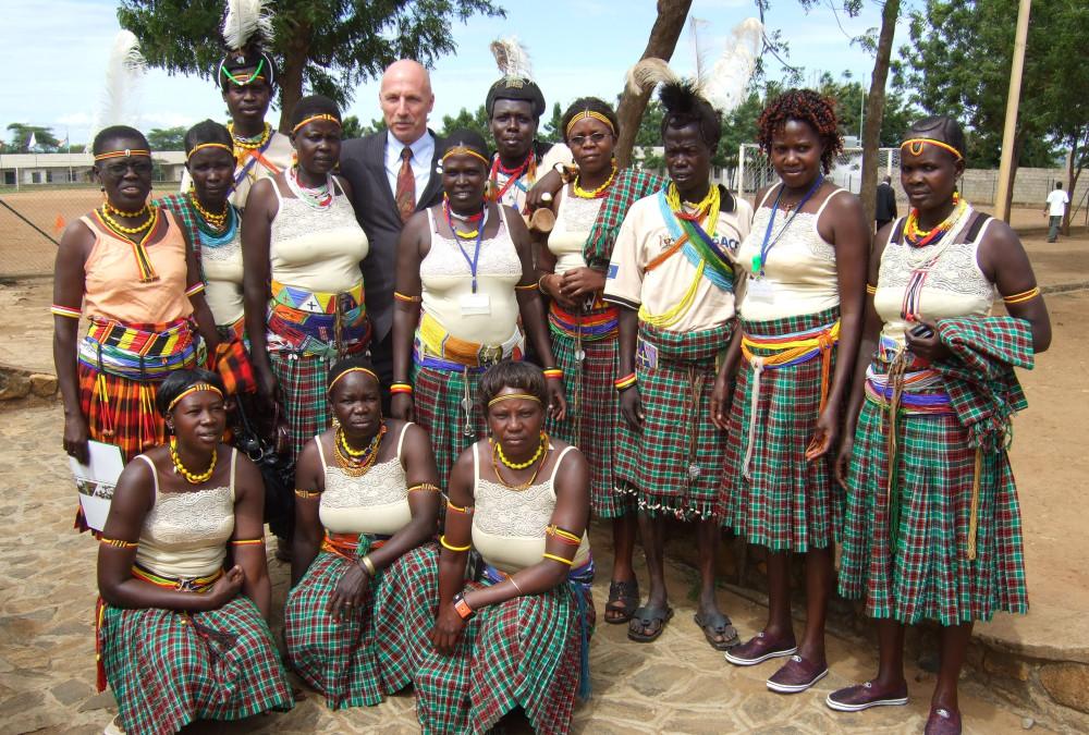 Ugandas president støtter sykepleierne