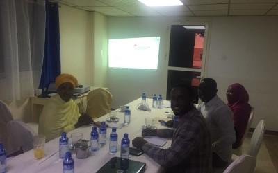 Project visit to Mogadishu.